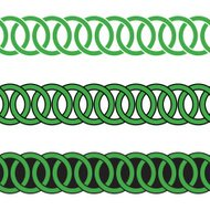 Celtic Knot Seamless Repeating Border