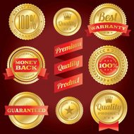 Satisfaction Guarantee / Warranty Badges and Labels