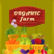 Organic Farm Background