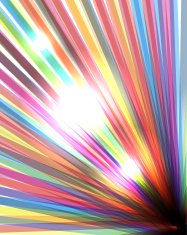 Vector colorful rainbow background