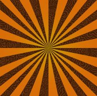 Burst on a Swirly Background / Vector File