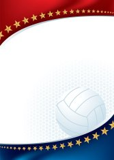 Volleyball All-Star Background