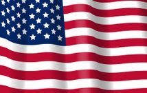 Flag USA. United States of America background.