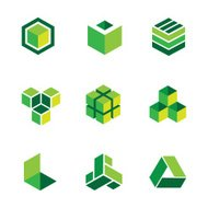Greenbox-Logos und icons