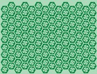 Seamless Shamrock Pattern (Vector)