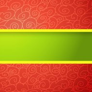 Red and Green Bright Background