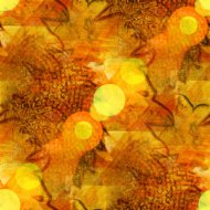 bokeh wallpaper background watercolor art yellow ornament seamle