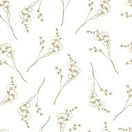 Orchid floral pattern background