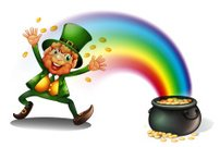Man with a pot of golds