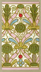 Applique embroidery pattern - 16th Century