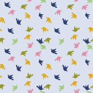 Repeating Birds Pattern