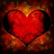 Valentine's day red background