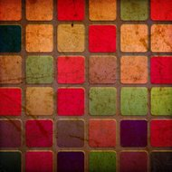grunge colourful squares