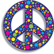 Peace Sign Colorful