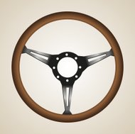 Retro Steering Wheel