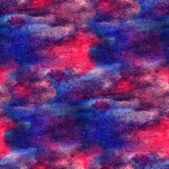 watercolor seamless texture red, blue background paint abstract