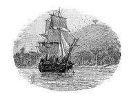 The Hispaniola - Treasure Island Ship