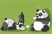 Create Cartoon Pandas-illustration