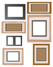virtual picture frames