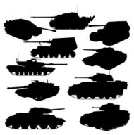 Tank Silhouette Collection