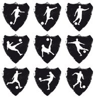 soccer shields with best player