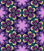 Floral Graphic Seamless Pattern. Abstract background.