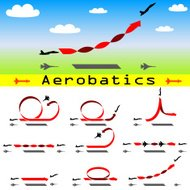 Aerobatics airplane