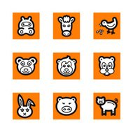 Animal Icons Series