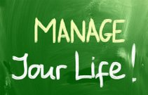 Manage Your Life Concept