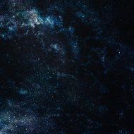 space with stars