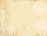 Christmas Snowflake Parchment Background