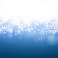 Vektor Winter Background