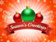 Season's Holiday Greeting Cards