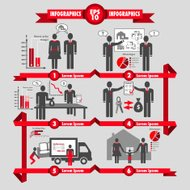 Vector business infographic