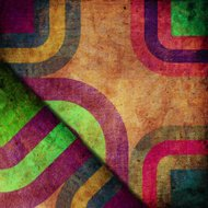 abstract curved bands