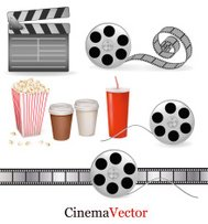 Set of movie elements