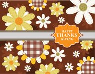 Happy Thanks Giving Sign Design Card Label