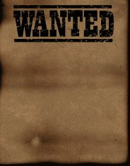 Wanted Poster Background - Vintage