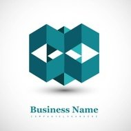 abstract Logo business success architecture icon Vector