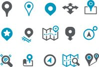 Maps Icon Set