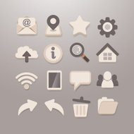 Web and Social media Icon set - Grace_Series