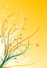 abstract spring floral decorative background vector illustration