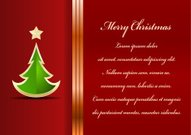 Celebration background with tree and place for your text