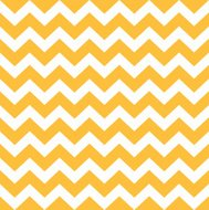 Motif Chevron Thanksgiving - jaune et blanc