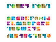 Foury Line Font