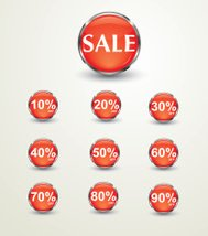 Icons Sale discount % OFF purchase