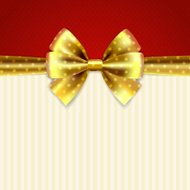 Background with bow