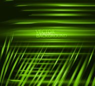 abstract green shiny technology vector background
