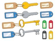 Keys and Tags - incl. jpeg