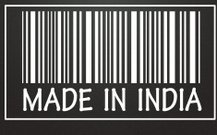 made in india label